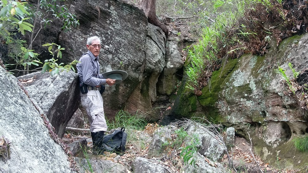 Photo of Just try to keep up with Ipswich's 85-year-old bushwalking adventurer