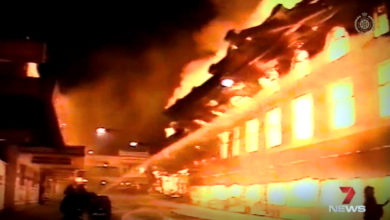 Photo of Fire chief recalls the night Reids Department Store was gutted in an inferno