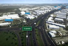 Photo of Ipswich Motorway upgrade reaches half way mark